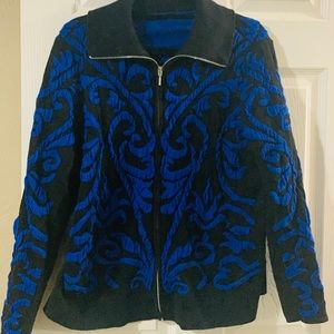 Chicos Sweater Jacket